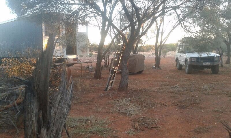 Mount Magnet gold prospecting outfit for sale (incl equipment and